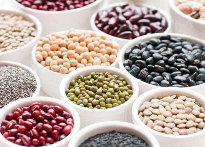 Đậu,ngũ cốc,...là những thực phẩm cần bổ sung vào những thực đơn hằng ngày cho người bị tiểu đường